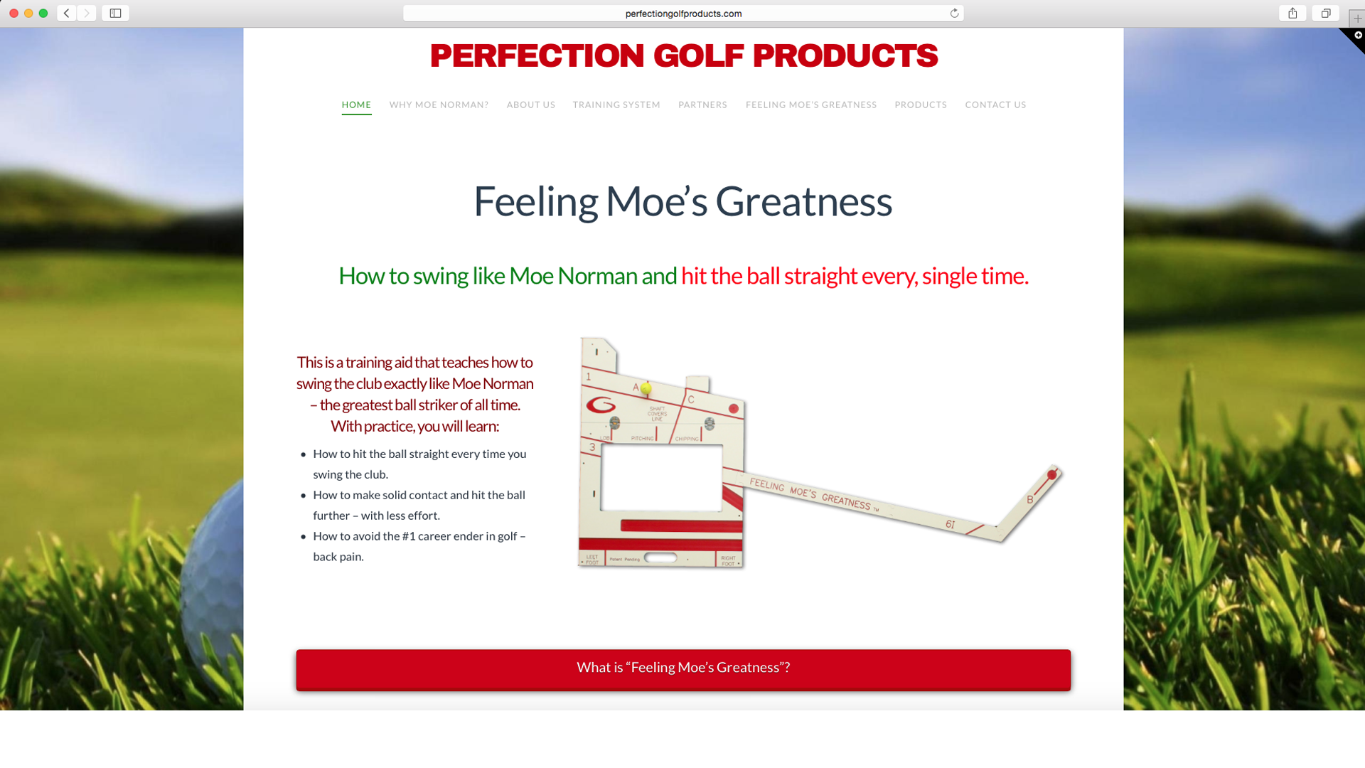 Perfection Golf Products