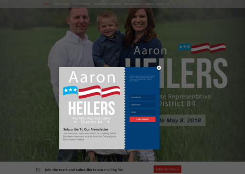 elect heilers website