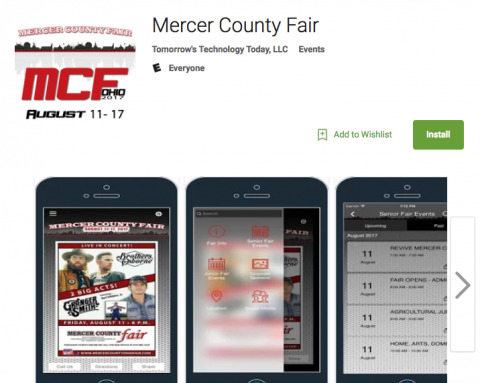 Mercer County Fairgrounds App