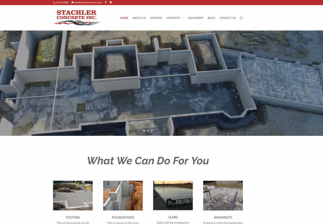 stachler concrete website