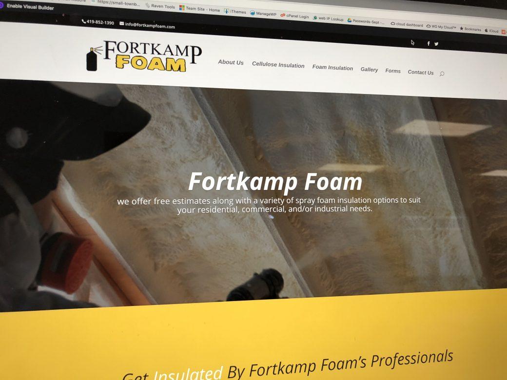 Fortkamp Foam Website